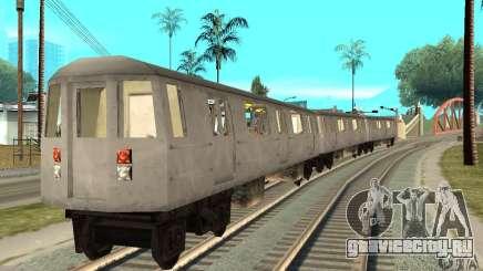 Liberty City Train GTA3 для GTA San Andreas