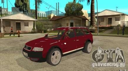 Audi Allroad Quattro v1.1 для GTA San Andreas