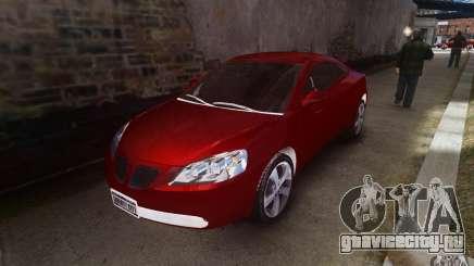 Pontiac G6 для GTA 4