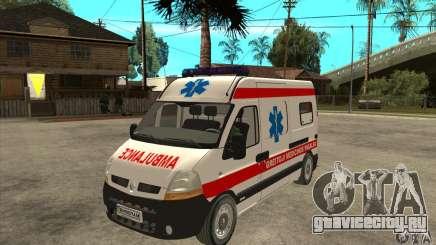 Renault Master Ambulance для GTA San Andreas