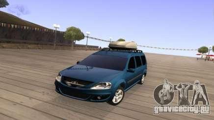 Lada Largus для GTA San Andreas