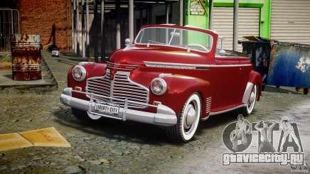 Chevrolet Special DeLuxe 1941 для GTA 4