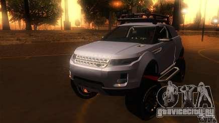 Land Rover Evoque для GTA San Andreas