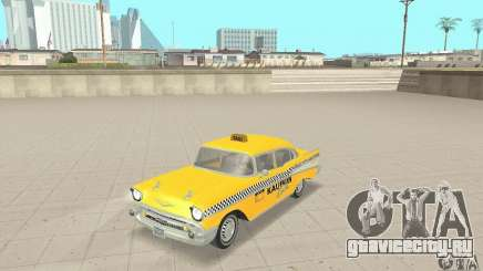 Chevrolet Bel Air 4-door Sedan Taxi 1957 для GTA San Andreas