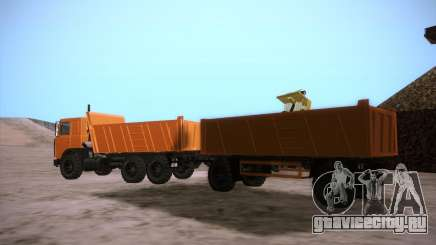 Прицеп для МАЗ 6317 для GTA San Andreas