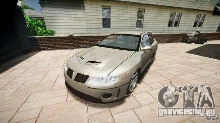 Pontiac GTO 2004 для GTA 4