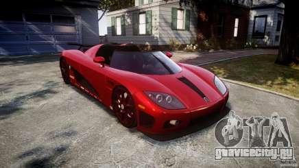 Koenigsegg CCXR Edition для GTA 4