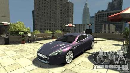 Aston Martin Rapide 2010 для GTA 4