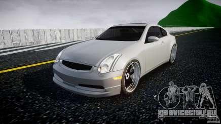 Infiniti G35 Coupe 2003 JDM Tune для GTA 4