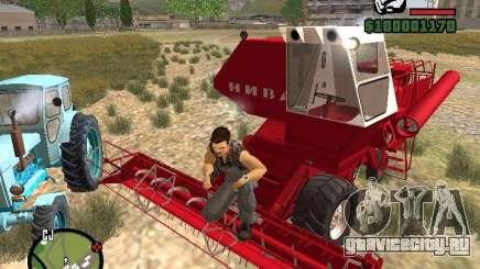 Комбайн СК-5 Нива для GTA San Andreas
