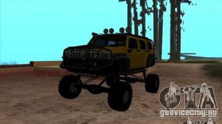 Hummer H3 Trial для GTA San Andreas