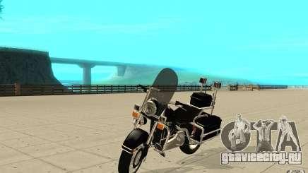GTAIV TBOGT PoliceBike для GTA San Andreas