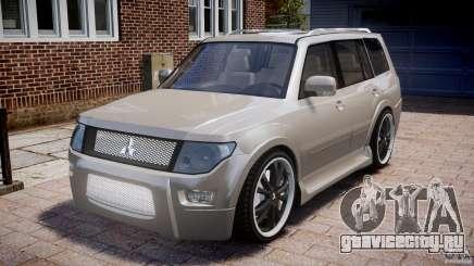 Mitsubishi Pajero Wagon для GTA 4