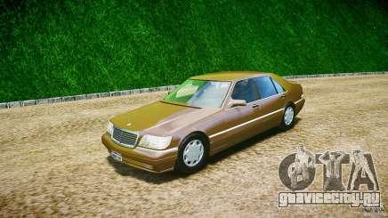 Mercedes Benz SL600 W140 1998 performance shafter style для GTA 4