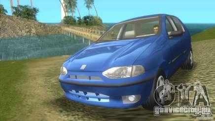 Fiat Palio бирюзовый для GTA Vice City