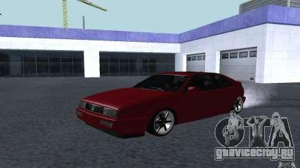 Volkswagen Corrado бордовый для GTA San Andreas