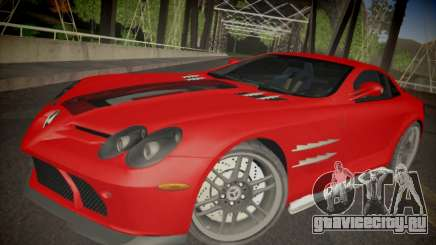 Mercedes-Benz SLR 722 Custom Edition для GTA San Andreas