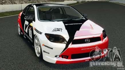 Scion TC Fredric Aasbo Team NFS для GTA 4