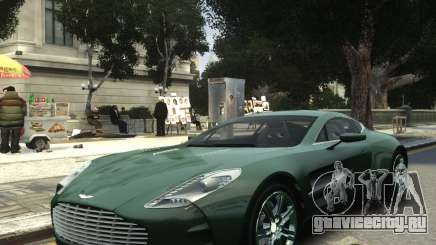Aston Martin One 77 2012 для GTA 4