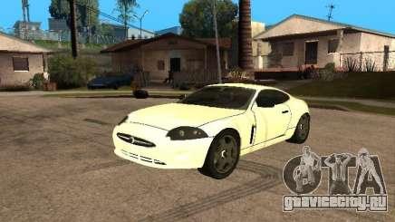 Jaguar XK белый для GTA San Andreas