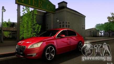 Peugeot 508 2011 для GTA San Andreas