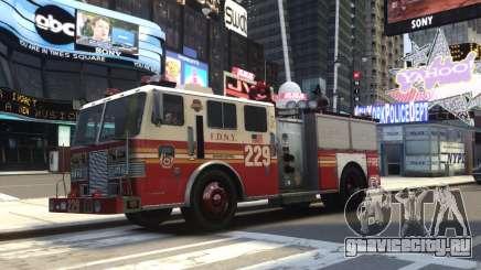 Fire Truck FDNY для GTA 4