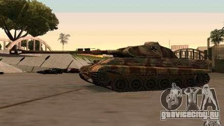 Pzkpfw VII Tiger II для GTA San Andreas