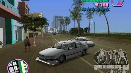 Peugeot 406 Taxi для GTA Vice City