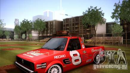 Volkswagen Caddy Custom 1980 для GTA San Andreas