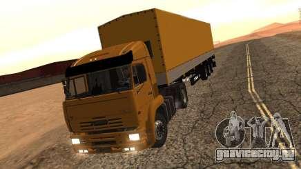 KamAZ 5460 Дальнобойщики 2 для GTA San Andreas