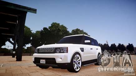 Range Rover Sport Supercharged v1.0 2010 для GTA 4