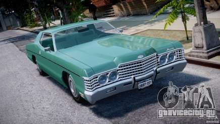 Mercury Monterey 2DR 1972 для GTA 4