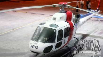 Eurocopter AS350 Ecureuil (Squirrel) Malaysia Police Helicopter для GTA 4