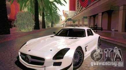 Mercedes-Benz SLS AMG GT-R для GTA San Andreas