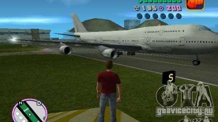 Boeing 747 для GTA Vice City