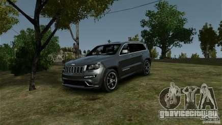 Jeep Grand Cherokee SRT8 для GTA 4