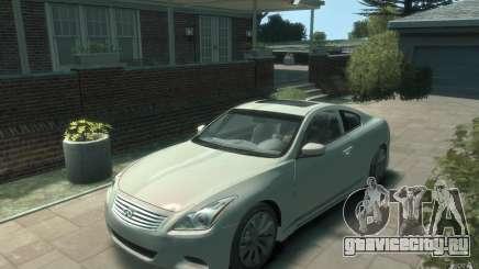 Infiniti G37 S для GTA 4