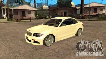 Bmw 135i coupe Police для GTA San Andreas