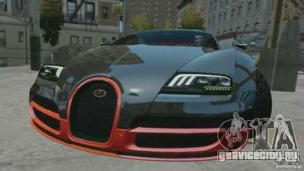 Bugatti Veyron 16.4 Super Sport для GTA 4
