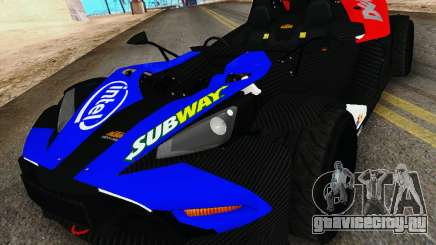 KTM X-Bow 2013 для GTA San Andreas