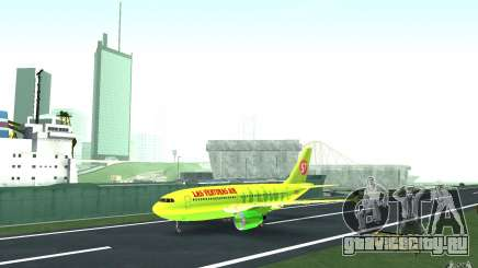 Airbus A310 S7 Airlines для GTA San Andreas