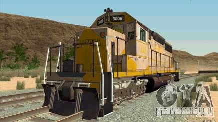 Clinchfield SD40 (Yellow & Grey) для GTA San Andreas