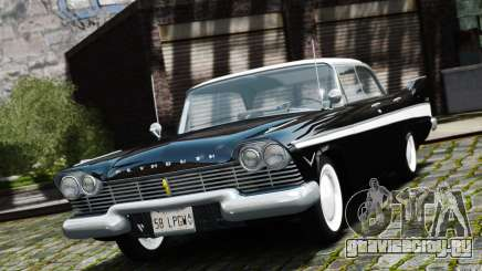 Plymouth Belvedere Sport Sedan 1957 для GTA 4