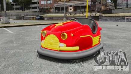 Бамперная машинка для GTA 4