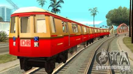 Liberty City Train DB для GTA San Andreas