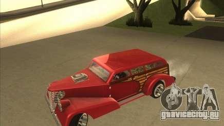 Custom Woody Hot Rod для GTA San Andreas