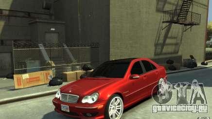 Mercedes-Benz C32 AMG Light Tuning для GTA 4