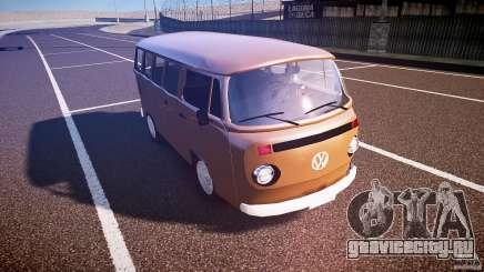 Volkswagen Kombi Bus для GTA 4