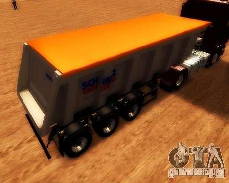 Полуприцеп Schmitz Cargo Bull для GTA San Andreas вид слева