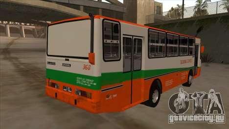 Tacurong Express 368 для GTA San Andreas вид справа